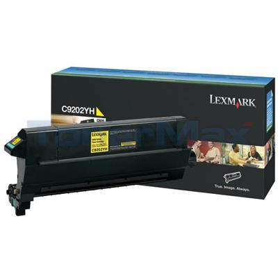 LEXMARK C920 TONER CART YELLOW